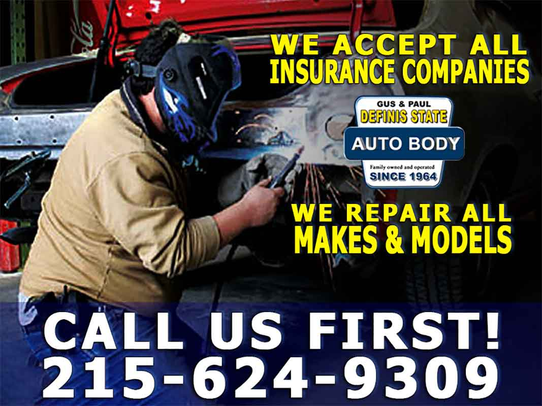 Definis Auto Body is an independent body shop and that means we work for you, the car owner, and not the insurance company.